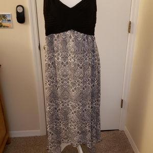 XL Cute Sexy DressWith Handercheif Hem
